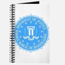 FBI Seal In Blue Journal