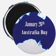 January 26th Australia Day Magnets