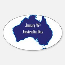 January 26th Australia Day Decal