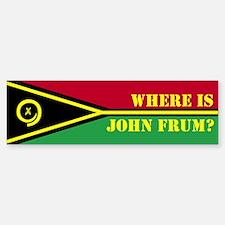 John Frum Bumpersticker