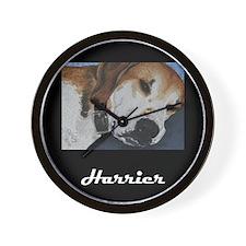 Harrier Dog Wall Clock