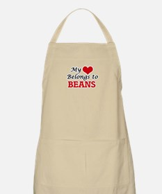 My Heart Belongs to Beans Apron