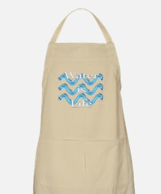 Water Is Life Apron