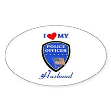 Love My Police Husband Decal