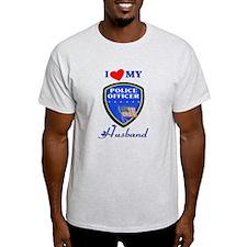 Love My Police Husband T-Shirt