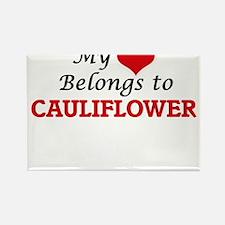 My Heart Belongs to Cauliflower Magnets