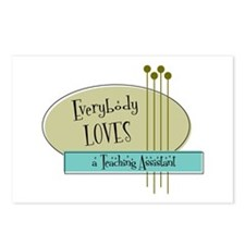 Everybody Loves a Teaching Assistant Postcards (Pa