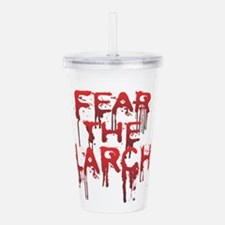 Fear Acrylic Double-wall Tumbler