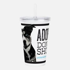 Adopt Don't Shop Acrylic Double-wall Tumbler