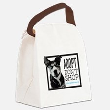 Adopt Don't Shop Canvas Lunch Bag