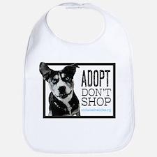 Adopt Don't Shop Bib