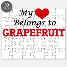 My Heart Belongs to Grapefruit Puzzle