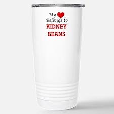 My Heart Belongs to Kid Stainless Steel Travel Mug