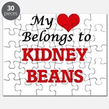 My Heart Belongs to Kidney Beans Puzzle