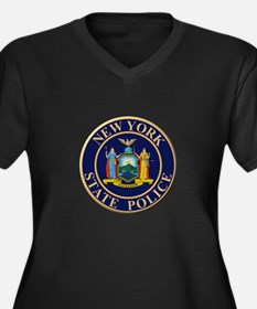 Police for the state of New York Plus Size T-Shirt