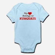 My Heart Belongs to Kumquats Body Suit