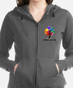 Cute Gay marriage Women's Zip Hoodie