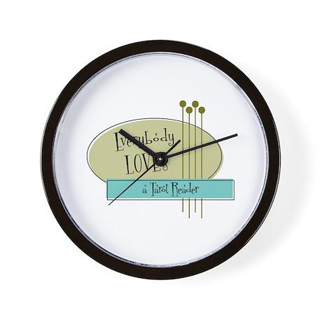 Everybody Loves a Tarot Reader Wall Clock