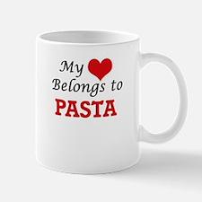 My Heart Belongs to Pasta Mugs