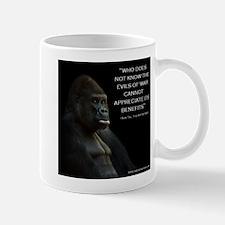 The Solemn Gorilla Mugs