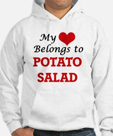 My Heart Belongs to Potato Salad Hoodie