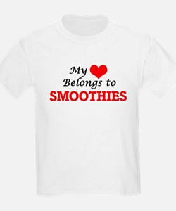 My Heart Belongs to Smoothies T-Shirt