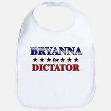 BRYANNA for dictator Bib