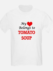 My Heart Belongs to Tomato Soup T-Shirt