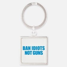 Ban Idiots Keychains