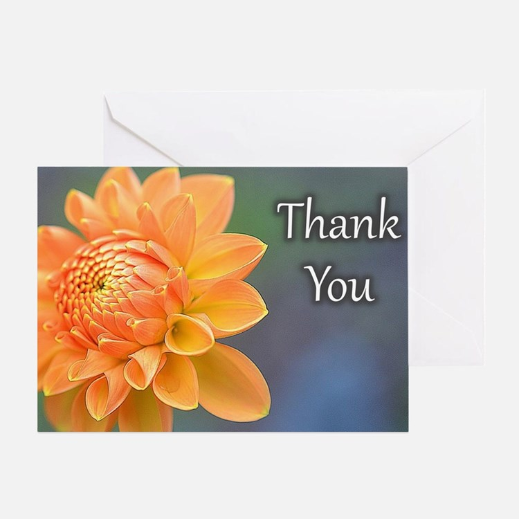 Cute Christmas thank you notes Greeting Card