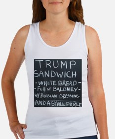 Trump Sandwich Tank Top