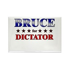 BRUCE for dictator Rectangle Magnet