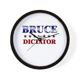 Bruce for dictator Basic Clocks