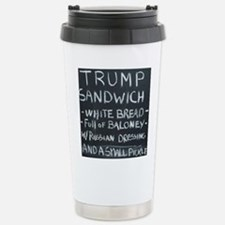 Trump Sandwich Stainless Steel Travel Mug