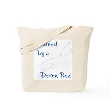 Trained by a Devon Rex Tote Bag