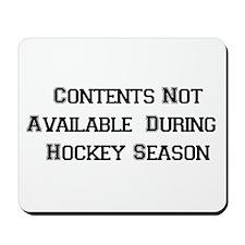 Hockey Season Mousepad