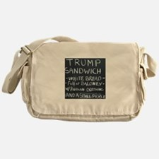 Trump Sandwich Messenger Bag