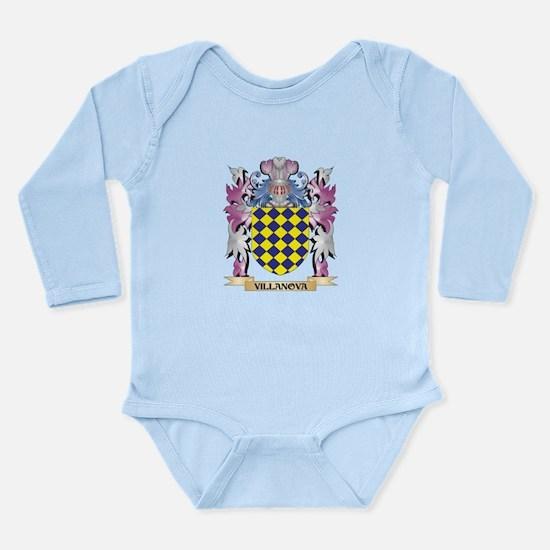 Villanova Coat of Arms - Family Crest Body Suit