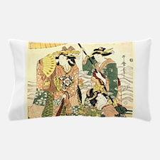 Princess and Maids Ukiyoe Pillow Case