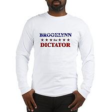BROOKLYNN for dictator Long Sleeve T-Shirt