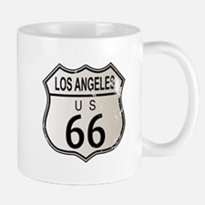 Los Angeles Route 66 Sign Mugs