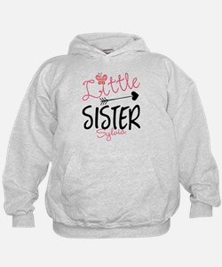 Little Sister Butterfly Personalized Hoodie
