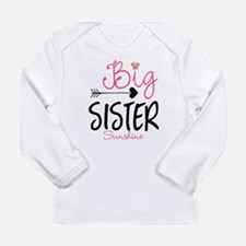 Big Sister Arrow Butterflyl Personalized Long Slee