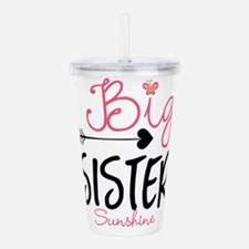 Big Sister Arrow Butterflyl Personalized Acrylic D