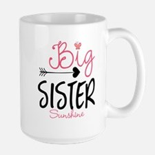 Big Sister Arrow Butterflyl Personalized Mugs