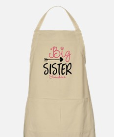 Big Sister Arrow Butterflyl Personalized Apron