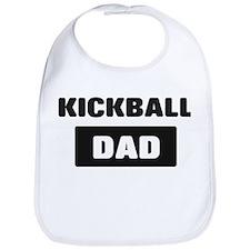 KICKBALL Dad Bib