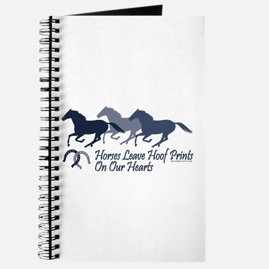 Hoof Prints On Our Hearts Journal