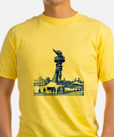 Statue of Liberty Torch On Ground T-Shirt