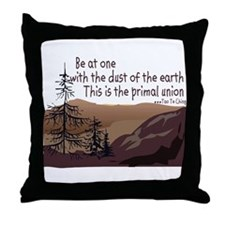 Cute Earth day 2007 Throw Pillow
